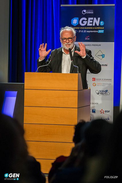 Conférence de Jérôme Bonaldi – L'innovation : la grande histoire