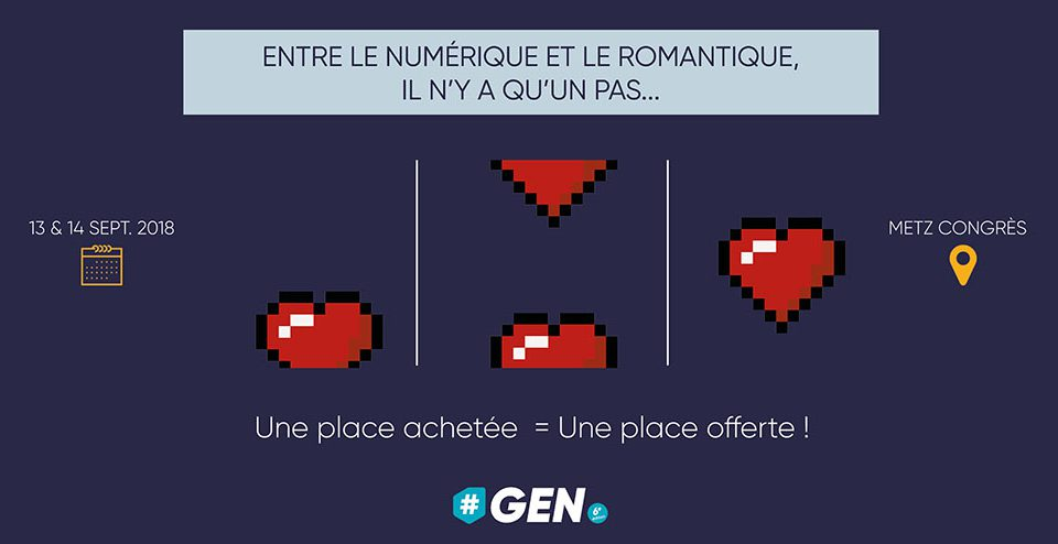 Entre le numérique et le romantique, il n'y a qu'un pas…