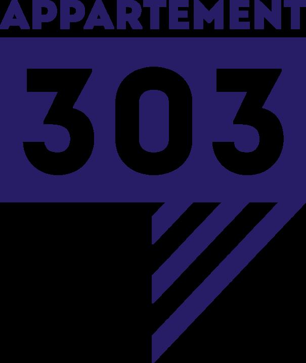 Le studio de création et de communication Appartement 303, à la manière d'une agence de communication, conçoit et réalise votre identité graphique, vos documents commerciaux, vos campagnes de pub, votre site web… Nous proposons une gestion globale, de la conception à la livraison du produit fini.