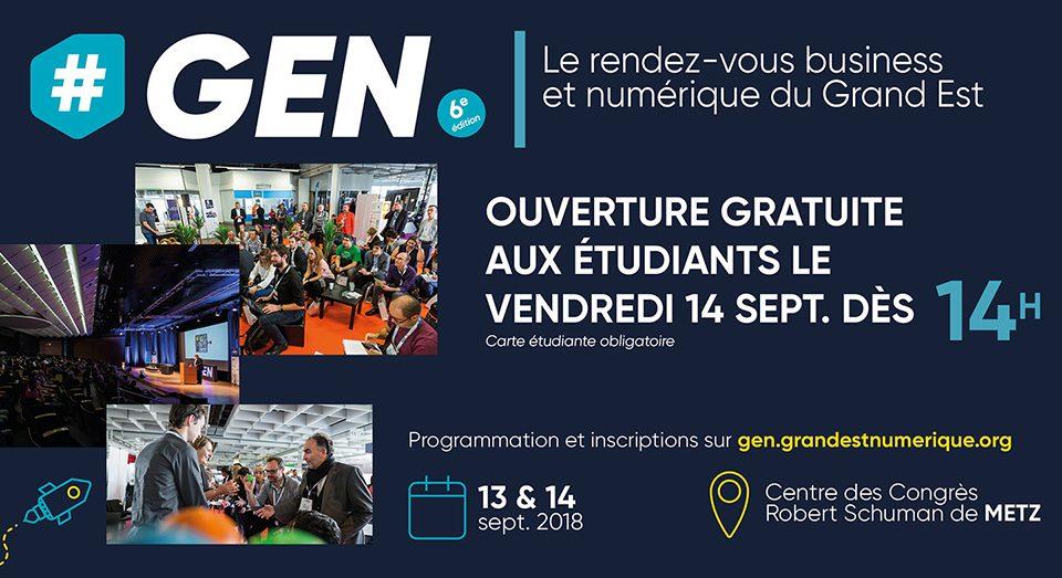 Entrée gratuite pour les étudiants le vendredi 14 septembre à partir de 14h
