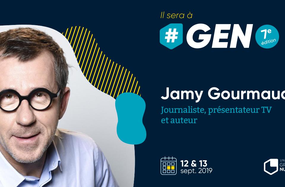 """Jamy Gourmaud, la vedette de l'émission """"C'est pas sorcier"""" à #GEN2019 !"""