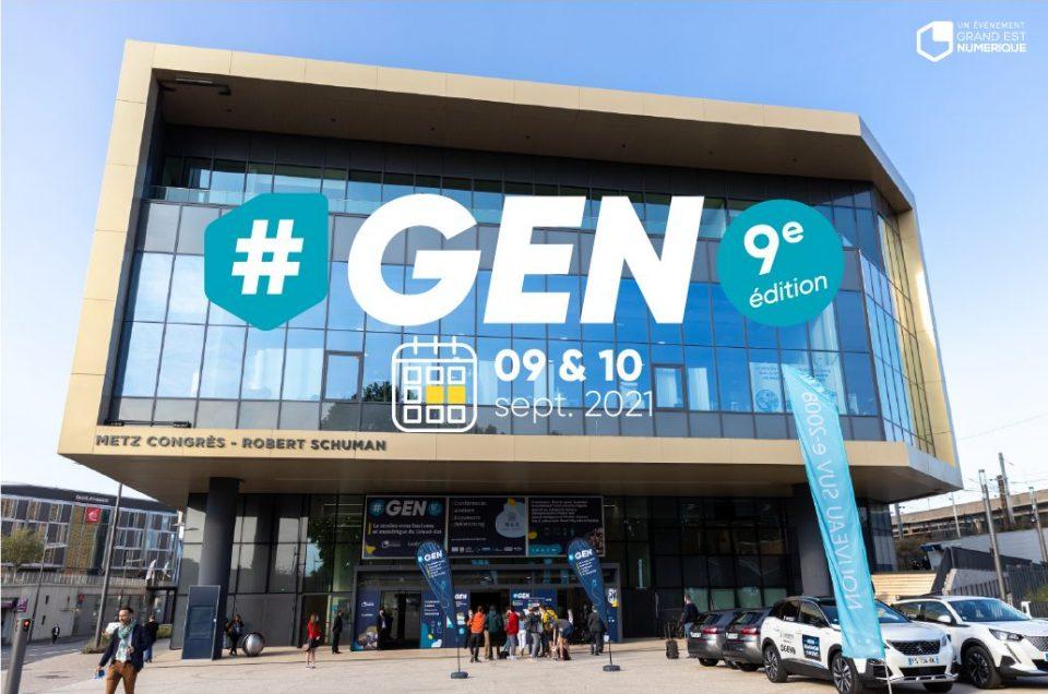 #GEN2021 : du nouveau pour la 9ème édition
