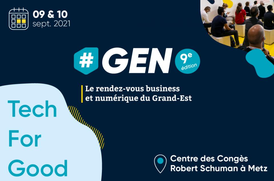 Dans 150 jours : la Tech for Good parmi les grands sujets de #GEN2021